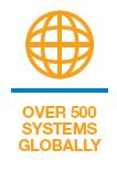 Over 500 Systems Globally