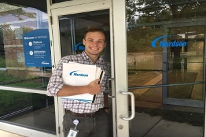 Nordson's Talent Pipeline in Action:  Meet Jordan Hyde