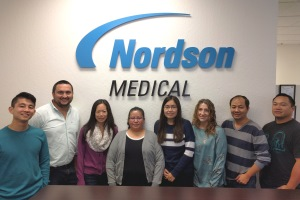 Nordson Medical Team工作双倍时间来帮助挽救生命