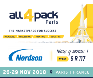 All4Pack trade show in Paris, France 2018