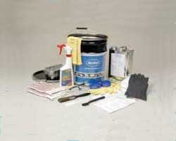 Nordson's Melter Flushing Service Kit contains everything needed to flush and clean melter tanks