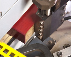 EB 60 V edge banding gun for hot melt or PUR adhesives