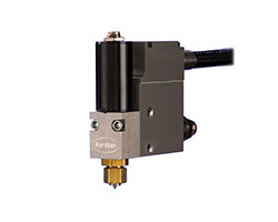 Nordson EM-100 guns offer compact size, precise pattern control and consistency