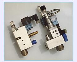 LS 373 spray gun for adjustable, controlled spiral spray patterns