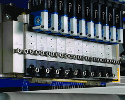 Universal Slice applicators simultaneously produce multiple nonwovens applications