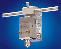 Nordson H-20 guns for high-flow, intermittent hot melt adhesive application