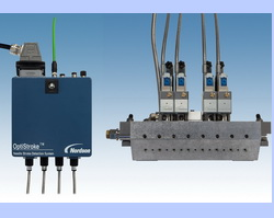 OptiStroke needle stroke detection system reduces product waste