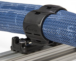Blue Series hoses with RediFlex II mounting system for adhesive application and dispensing