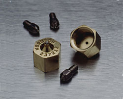 Precision nozzles offer superior pattern placement, flow accuracy and consistency