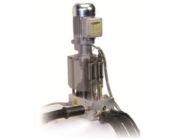 GP200 metering stations increase distribution points of existing melters