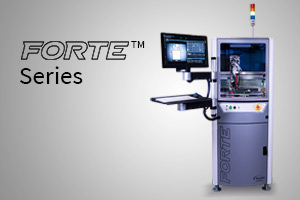 Introducing the Forte? Series – Delivering exceptional productivity and accuracy.