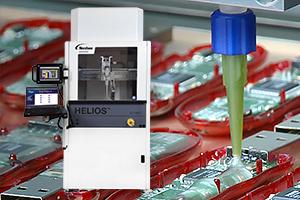 用于电子组装、灌封、密封、衬垫和热接口材料的大容量流体分配。