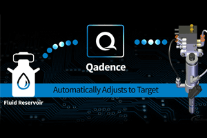 The new Qadence™ closed-loop flow control system maintains a stable flow rate by volume for high quality coating results.