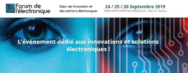 Forum De L Eletronique 2019 Banner