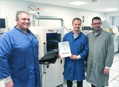 Nordson ASYMTEK and Demant A/S Celebrate 20 Years of Business Together