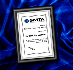 Nordson SMTA Corporate Partnership Award