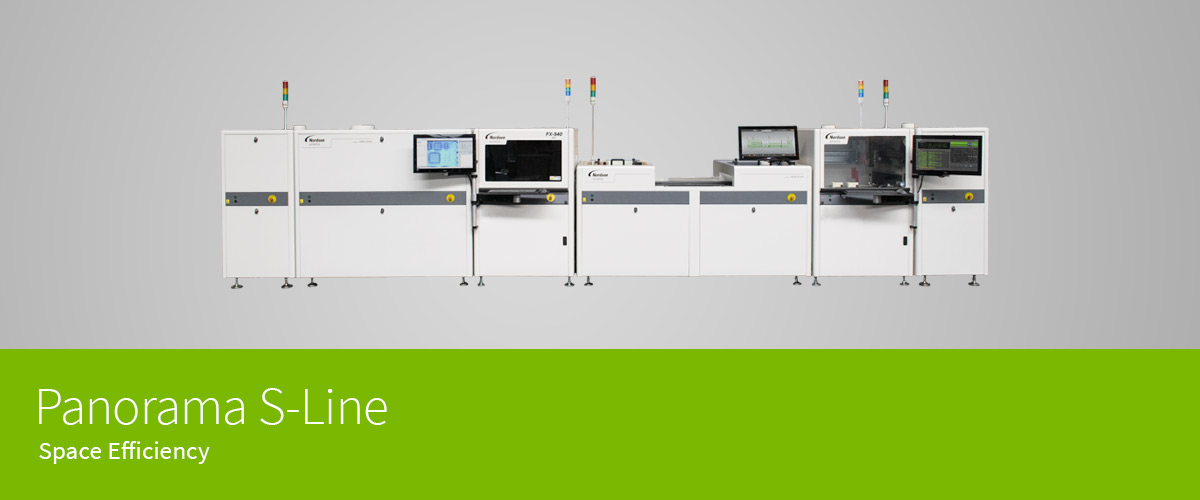 Panorama Conformal Coating Line - S-Line