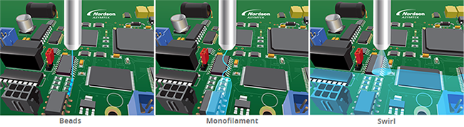SC-300 Swirl Coat Applicator Tri-Mode - Bead, Monofilament, and Swirl