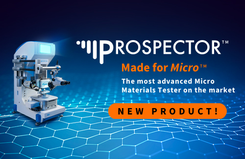 Prospector Micro Materials Tester