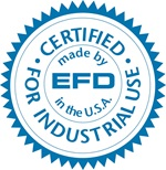 Nordson EFD Certified for Industrial Use Seal