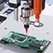 Nordson EFD シリコーンディスペンサーと xQR41 MicroDot™ バルブ