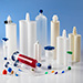 Nordson EFD syringe barrels, cartridges, and two-component products for fluid packaging.