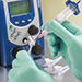 Ultimus™ III Dispensing applying cyanoacrylate