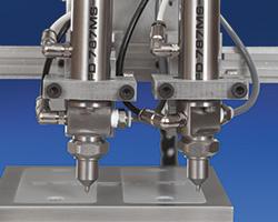 787 MicroSpray valve wireless application