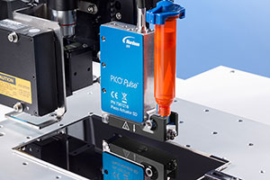 Fast, high-precision dispensing systems for electronics applications.
