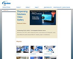 Nordson EFD announces its new website Dispensing Solutions Video Gallery