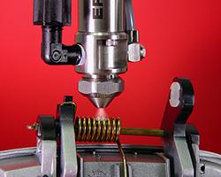 781S spray valve lubricates door spring