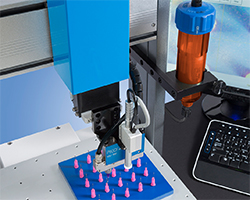 Nordson EFD Automated Dispensing System with Cartridge