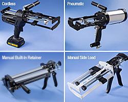 Bi-composants (2K) Pistolets de Dépose