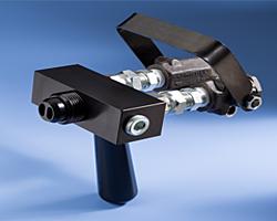 Zwei Komponent (2K) Manuelles Ventil für hohe Fließraten Serie 600