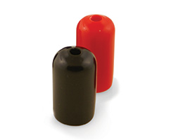 Nordson EFD Black and Red Tip Shields