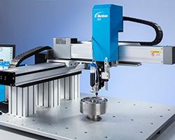 Robot di erogazione automatizzata del fluido serie GV a 3 assi