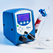 Ultimus Series fluid dispensers are used for benchtop syringe dispensing applications for adhesive or glue, oil, grease, epoxy, silicone, sealant, cyanoacrylate, solder paste, and other assembly fluids.