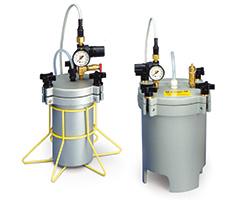Analoge Flüssigkeitsbehälter