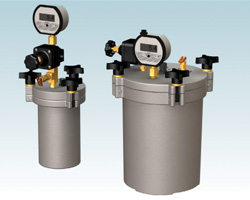 Fluid Reservoirs with digital gauge