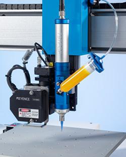 797PCP progressive cavity volumetric dispensing pump from Nordson EFD