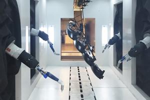 Pulverbeschichtungen mit Robotern