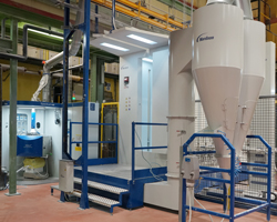Bosch Powder Coating line