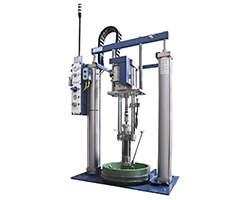 Rhino SD3/XD3 Electric Bulk Unloader | Nordson Industrial Coating Systems