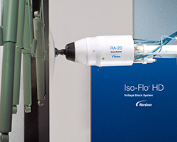 Nordson ISO-FLO-HD waterborne paint system with rotary atomizer