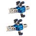 Trilogy™ Air Spray (AS) y Manual de bajo volumen y baja presión (LVLP)