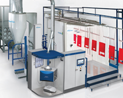 ColorMax 3 Fast Colour Change Powder Coating Booth