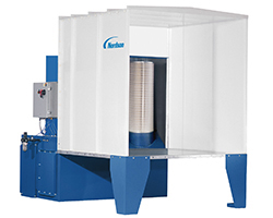 Nordson EconoCoat Series Powder Coating Batch Spray Booth