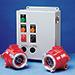 Detector de Llamas FS10-R30 para Recubrimiento en Polvo