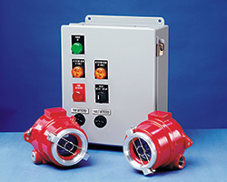 FS10-R Fire Detection Equipment For Powder Coating Spray Booths