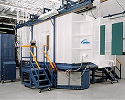 Horizon Powder Coating Spray Booth - with downdraft airflow